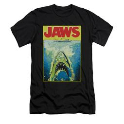 Jaws Shirt Slim Fit Bright Black T-Shirt
