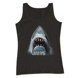 Jaws Shirt Tank Top Coming Up Black Tanktop