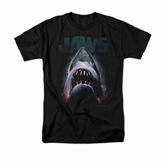 Jaws Shirt Terror In The Deep Black T-Shirt