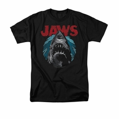 Jaws Shirt Water Circle Black T-Shirt