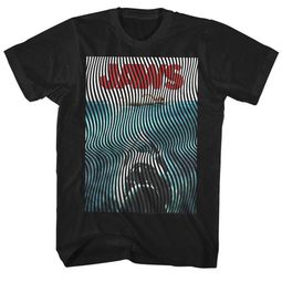 Jaws Shirt Waves Black T-Shirt