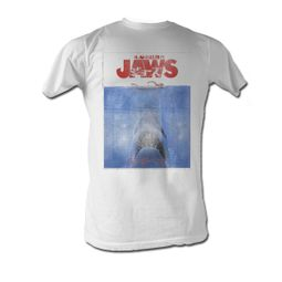 Jaws T-Shirt Jaws in Japan Classic Adult White Tee Shirt