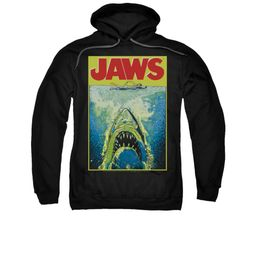 Jaws Youth Hoodie Bright Black Kids Hoody