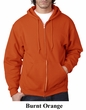 Jerzees Full Zip Hoodie Hooded Sweatshirt Nublend Fleece Hoody