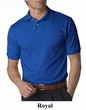 Jerzees Polo Shirt Cotton Jersey Golf Sport Shirt with SpotShield