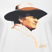 John Wayne Painted Profile Shirts