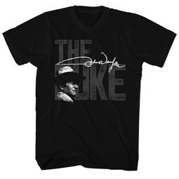 John Wayne Shirt The Big Duke Black T-Shirt