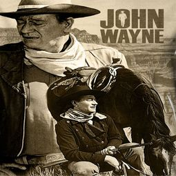John Wayne Stoic Cowboy Sublimation Shirts