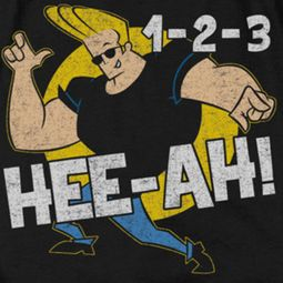 Johnny Bravo 123 Shirts