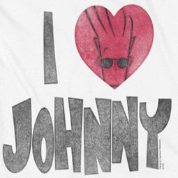 Johnny Bravo I Heart Johnny Shirts
