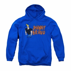 Johnny Bravo Youth Hoodie Imaginary Royal Kids Hoody