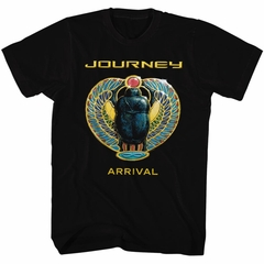 Journey Shirt Arrival Black Tee T-Shirt