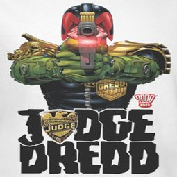 Judge Dredd Aiming Shirts