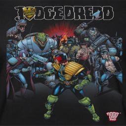 Judge Dredd Behind Him Shirts