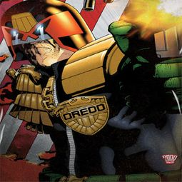 Judge Dredd Flag Sublimation Shirts