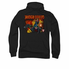 Judge Dredd Hoodie Shooting Black Sweatshirt Hoody