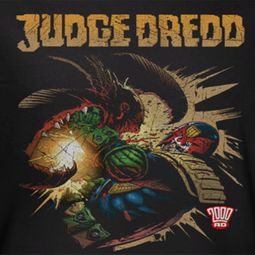 Judge Dredd Punch Blast Shirts