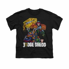 Judge Dredd Shirt Kids Bike Black T-Shirt