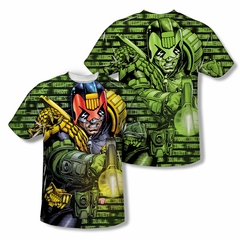 Judge Dredd Shirt Matrix Sublimation Youth Shirt