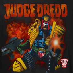 Judge Dredd Shooting Shirts