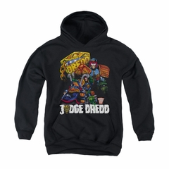 Judge Dredd Youth Hoodie Bike Black Kids Hoody