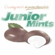 Junior Mints Juniors T-Shirts - Junior Mints Logo White Tee