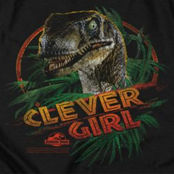 Jurassic Park Clever Girl Shirts