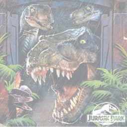 Jurassic Park Giant Door Shirts