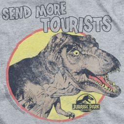 Jurassic Park More Tourists Ringer Shirts
