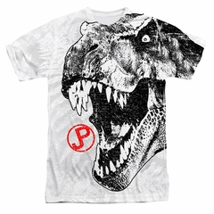 Jurassic Park T Rex Head Sublimation Shirt