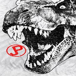 Jurassic Park T Rex Head Sublimation Shirts