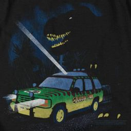 Jurassic Park Turn It Off Shirts