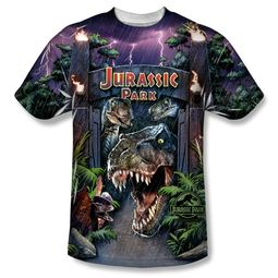 Jurassic Park Welcome To The Park Sublimation Shirt
