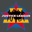 Justice League Juniors T-shirt Superheroes Stand Tall Charcoal Shirt