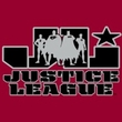Justice League Kids T-shirt JL Logo Youth Cardinal Red Tee Shirt