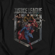 Justice League Movie Charge Shirts