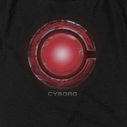 Justice League Movie Cyborg Logo Shirts