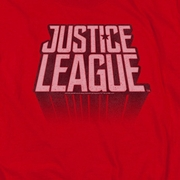 Justice League Movie Distressed Logo Shirts