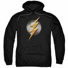 Justice League Movie Hoodie Flash Logo Black Sweatshirt Hoody