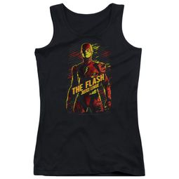 Justice League Movie Juniors Tank Top The Flash Black Tanktop