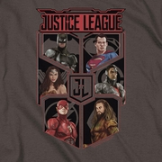 Justice League Movie League of Six Shirts