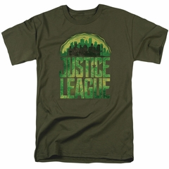 Justice League Movie Shirt Kryptonite Military T-Shirt