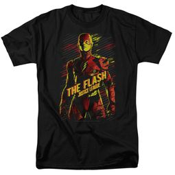 Justice League Movie Shirt The Flash Black T-Shirt