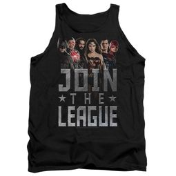 Justice League Movie Tank Top Join The League Black Tanktop