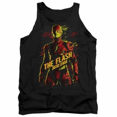 Justice League Movie Tank Top The Flash Black Tanktop