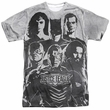 Justice League Movie The League Black and White Sublimation Front/Back