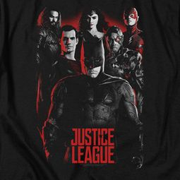 Justice League Movie The League Red Glow Shirts