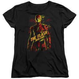 Justice League Movie Womens Shirt The Flash Black T-Shirt