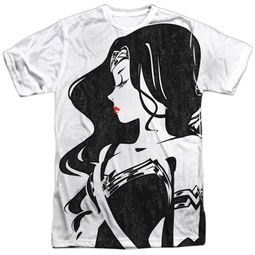 Justice League Movie Wonder Woman Profile Sublimation Shirt