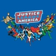 Justice League T-shirt Here They Come Royal Blue Tee